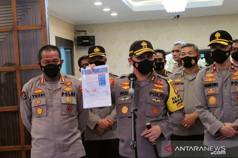 Kapolda Metro Jaya: Siapapun langgar protokol kesehatan ditindak tegas