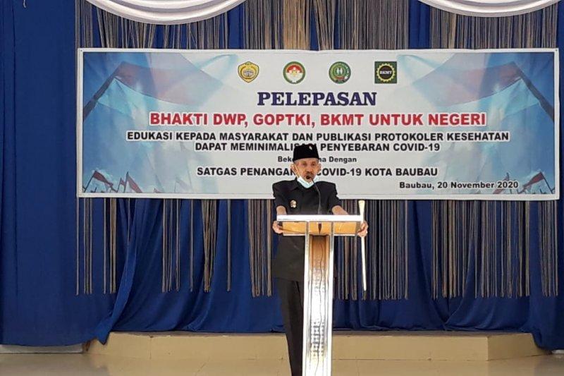 Wali Kota Baubau sebut organisasi yang baik adalah menjaga kekompakkan