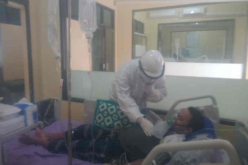 Di Cirebon jumlah pasien COVID-19 dengan gejala meningkat