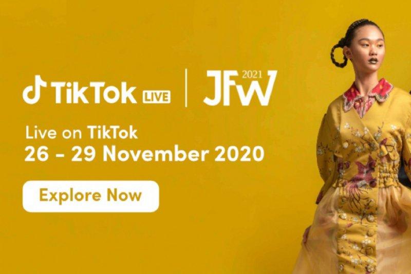 Plaform TikTok dukung JFW 2021, kolaborasikan fesyen dengan teknologi