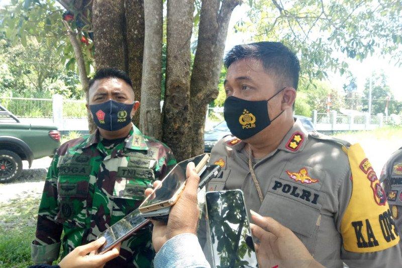 Prajurit TNI-Polri cegah pengumpulan massa di Kwamki Lama Timika