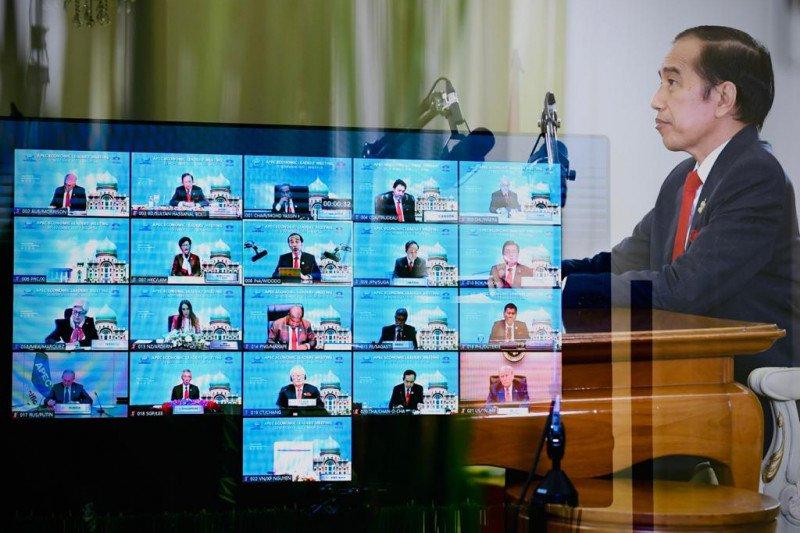 Presiden Jokowi sampaikan tiga hal dalam KTT APEC 2020, ini dia
