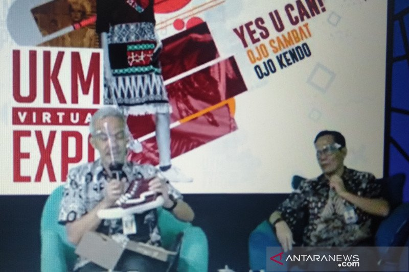 """UKM Virtual Expo""  bukukan transaksi Rp4,8 miliar"