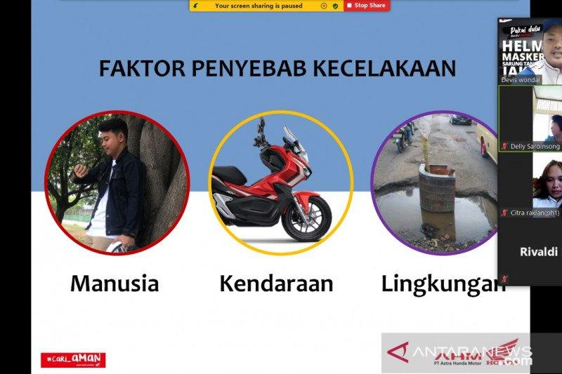 Honda tingkatkan edukasi keselamatan berkendara kepada siswa di Manado