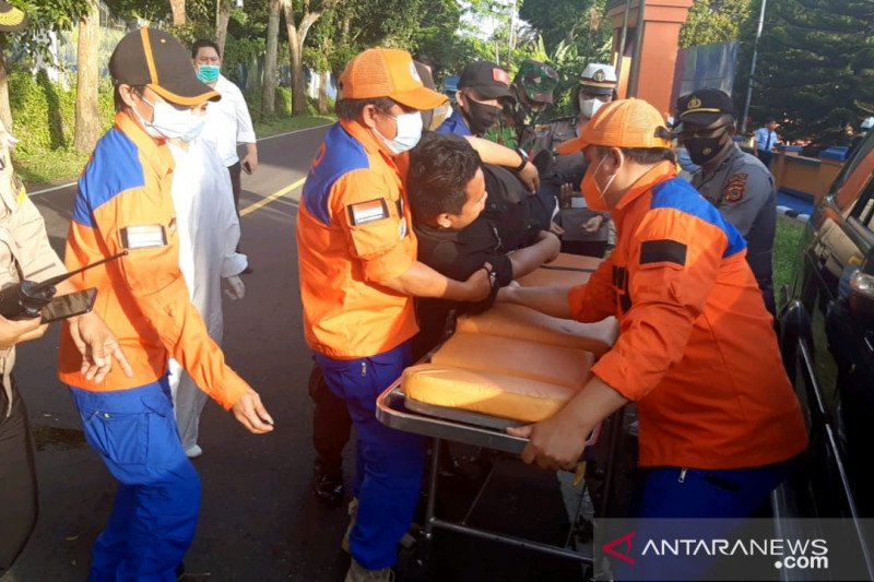 Sejumlah instansi di Minahasa Utara ikut simulasi penanggulangan bencana