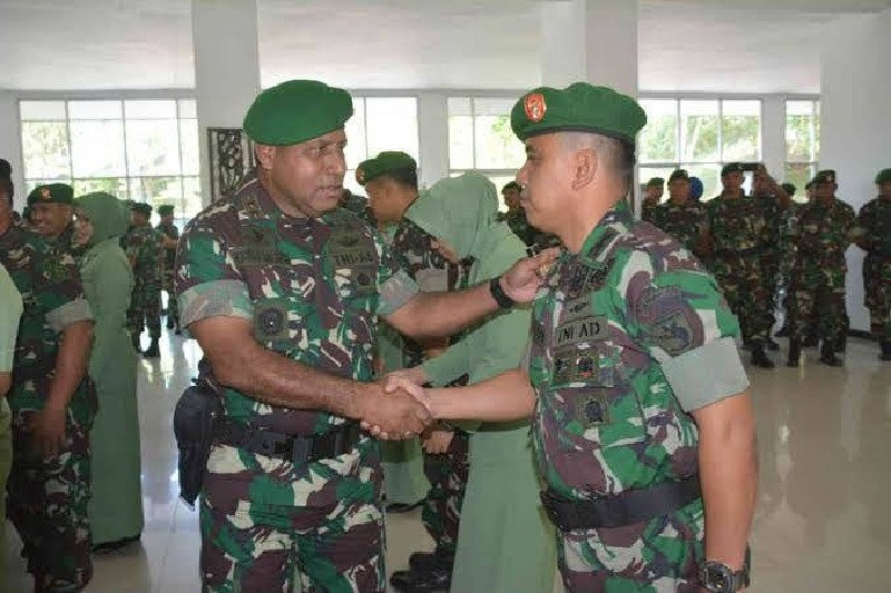 Putra Papua Mayjen TNI Herman Asaribab promosi jabat Wakasad