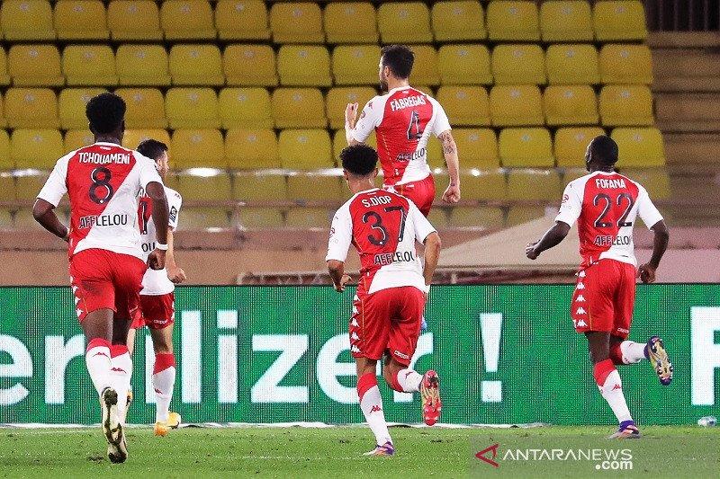 Sempat unggul dua gol, PSG akhirnya tersungkur di kandang Monaco