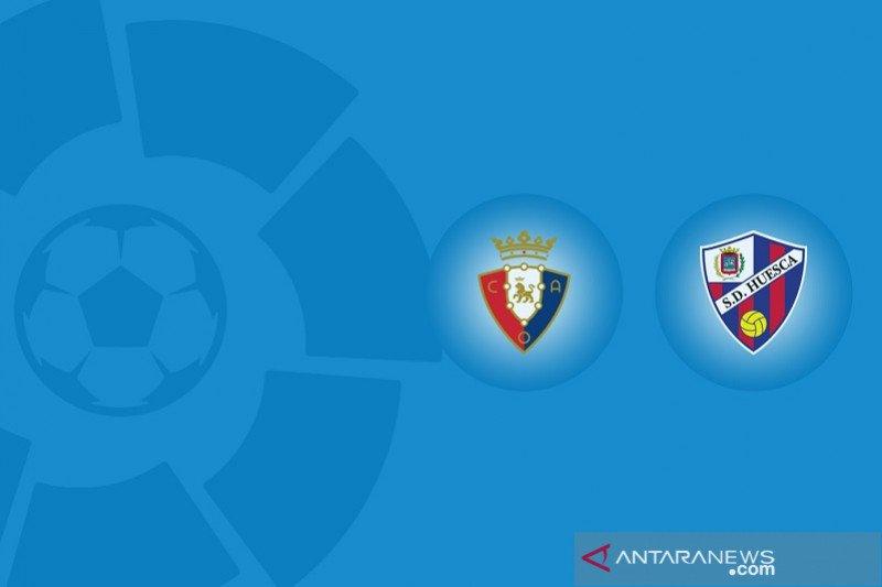 Huesca tahan imbang Osasuna 1-1