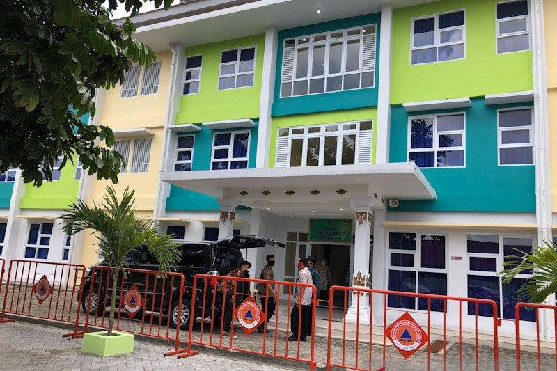 Kapasitas Selter Penanganan COVID-19 di Yogyakarta masih cukup
