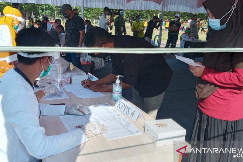 KPU Sulteng  kenalkan tata cara pemungutan suara kepada warga