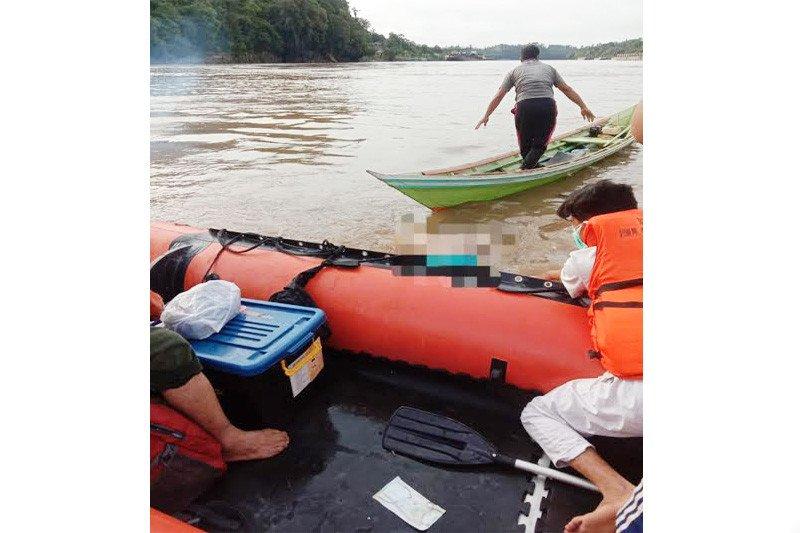 Jasad warga Jangkang Baru tenggelam di Sungai Barito ditemukan