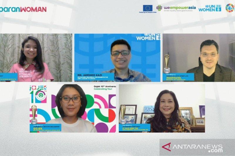 Gojek terpilih juara pertama di UN Women 2020 Asia-Pacific WEP