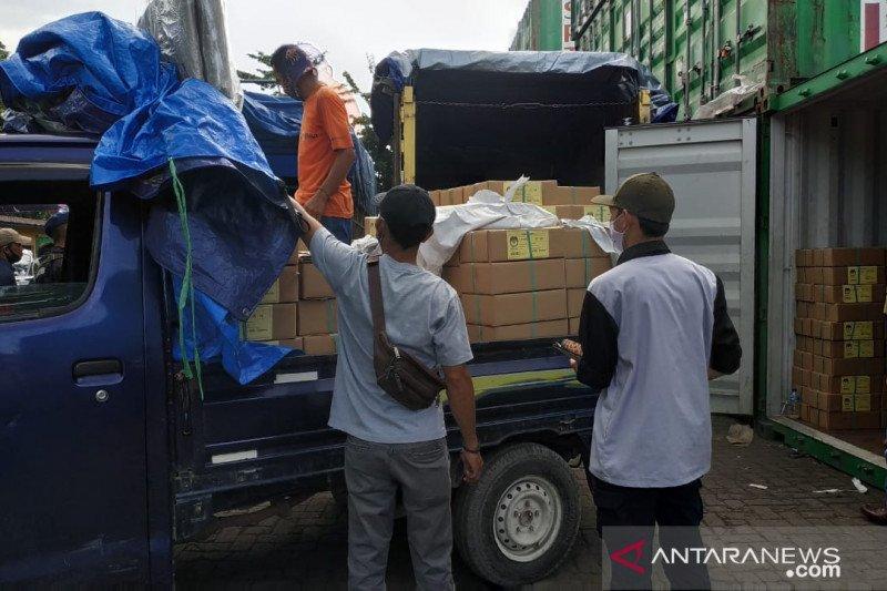 Logistik Pilkada Kalteng tiba di sejumlah kabupaten