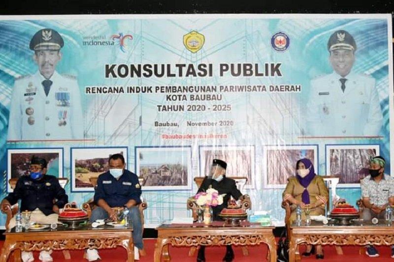 Pemkot upayakan sektor pariwisata Baubau menggeliat