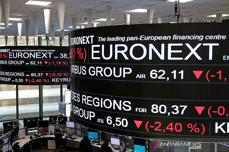 Saham Prancis kembali melemah, indeks CAC 40 berkurang 0,08 persen