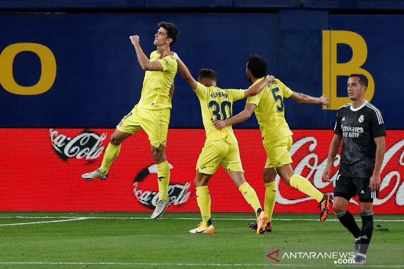 Real Madrid ditahan imbang Villarreal