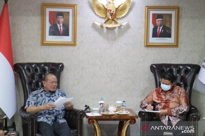 Ketua DPD rapat dengan DKPP terkait temuan di daerah