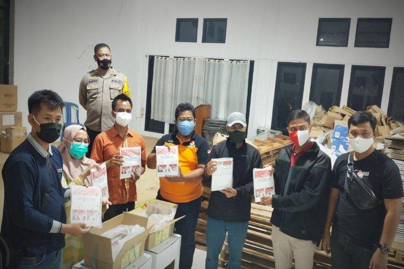 KPU Bartim mulai sortir surat suara Pilkada Kalteng