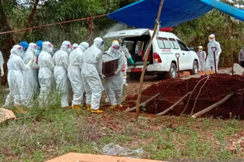 Pasien COVID-19 meninggal di Sultra bertambah menjadi 95 orang