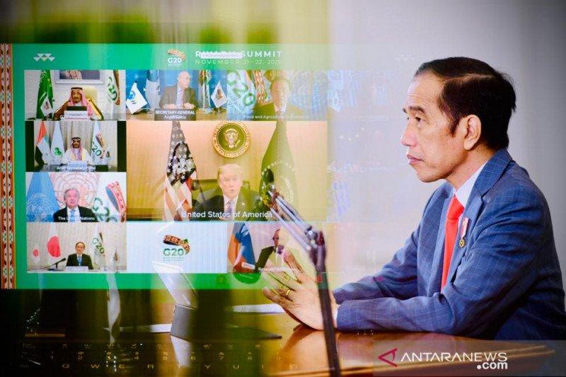 Presiden Jokowi sebut APBN 2021 fokus kepada empat hal