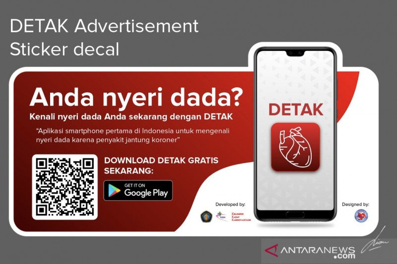 "Peneliti UB Malang kembangkan aplikasi ""DETAK"" bagi penderita pasien jantung"