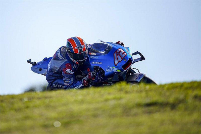 Jalan terjal pisahkan Tim Suzuki dan mahkota ketiga di MotoGP Portugal