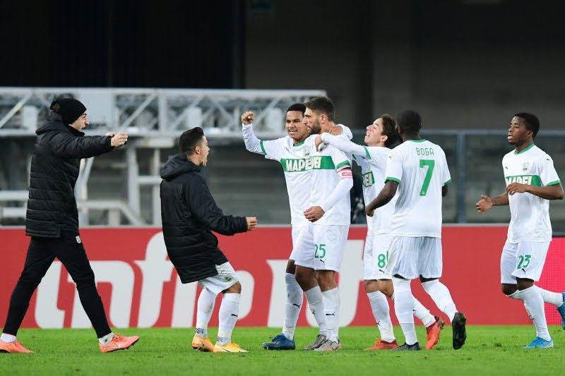 Sassuolo tekuk Benevento dengan skor 1-0