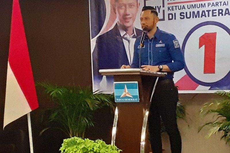 Ke Padang, AHY: Sumbar masih jadi barometer politik nasional