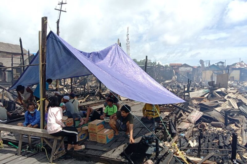 DPRD seeks central govt to build houses for Kotabaru fire victims