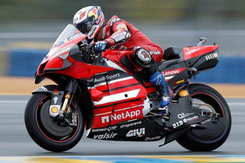 Dovizioso debut bareng Aprilia dalam tes privat di Jerez Spanyol