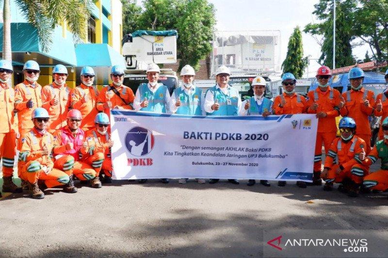 PLN Sulselrabar terjunkan 70 personel PDKB tingkatkan keandalan jaringan