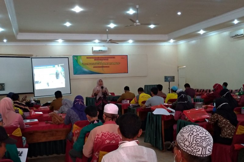 55 practitioners in Tapin trained to manage tourism