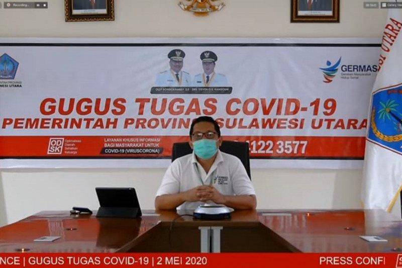 Angka kesembuhan pasien COVID-19 Sulut mencapai 5.163 orang