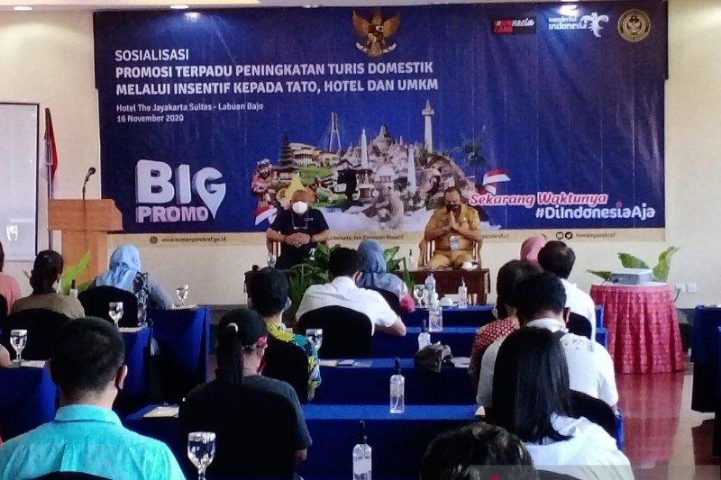 """Kemenparekraf dorong mobilitas wisatawan melalui """"Big Promo"""" pulihkan wisata Indonesia"""