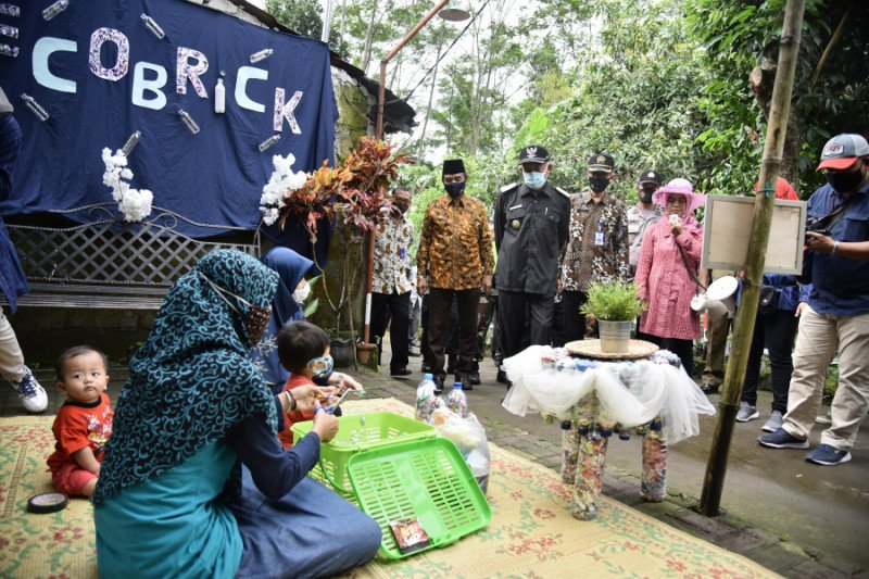 Bupati Sleman kukuhkan Kampung Tangguh Nusantara