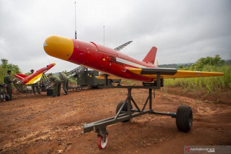 Penampakan drone Banshee Whirlwind milik Arhanud TNI AD