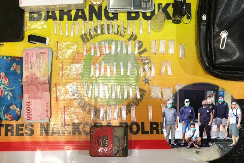 Polisi ringkus pengedar sabu-sabu di Kapuas