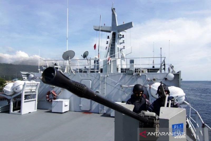 Uji Terampil Prajurit TNI AL
