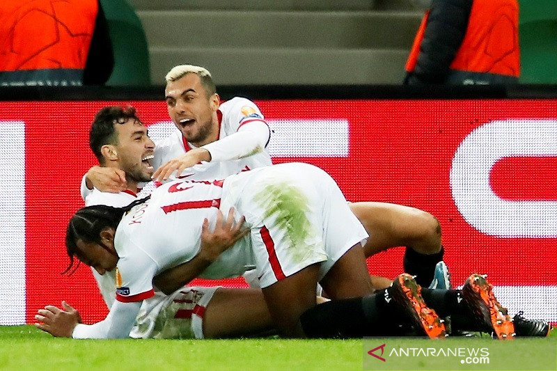 Sevilla menang lawan Krasnodar, dampingi Chelsea ke 16 besar