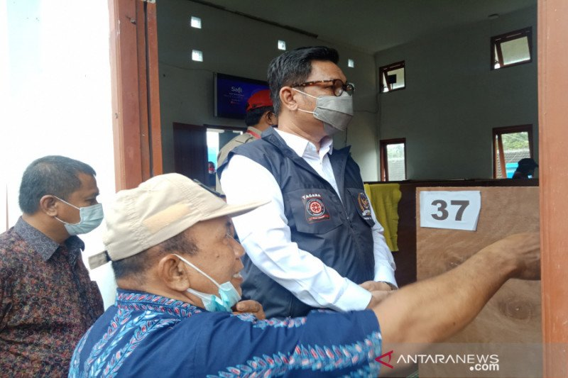 Komisi VIII DPR puji penanganan pengungsi Merapi di Sleman