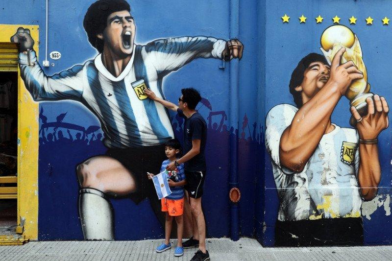 Andre Villas Boas minta FIFA istirahatkan Nomor 10 untuk hormati Maradona