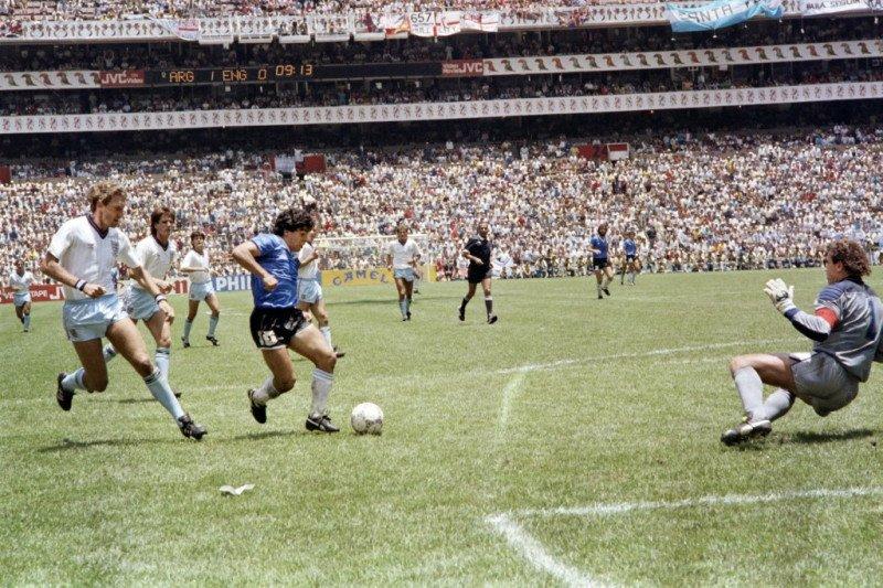 "Bagaimana kutipan ""Tangan Tuhan"" Diego Maradona menyebar ke seluruh jagat"