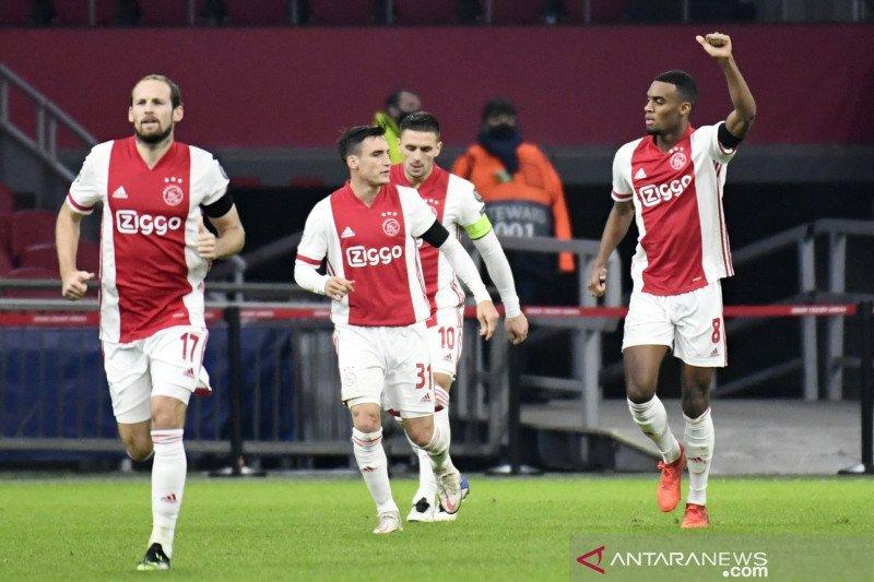 Ajax pastikan debut Liga Champions