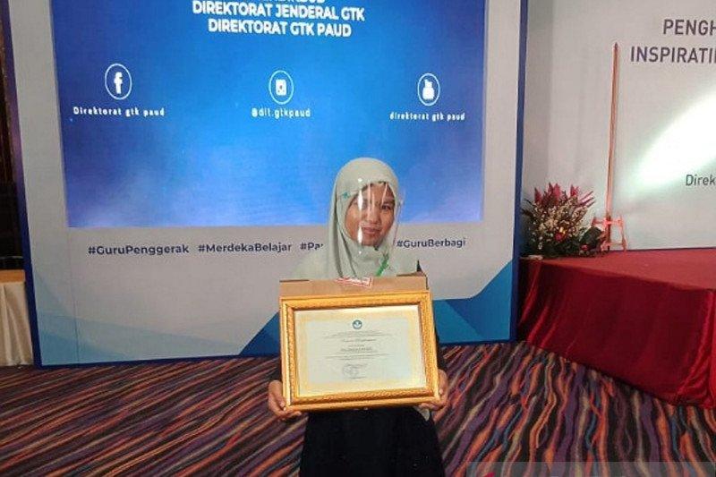 Kepala TK di Payakumbuh raih penghargaan tingkat nasional