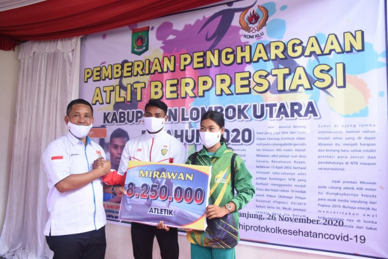 Sprinter asal Senaru KLU Mirawan bertekad bawa harum NTB di PON Papua