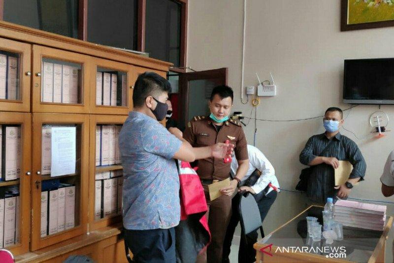 Bareskrim limpahkan tersangka  suap calon Bintara ke Kejari Palembang