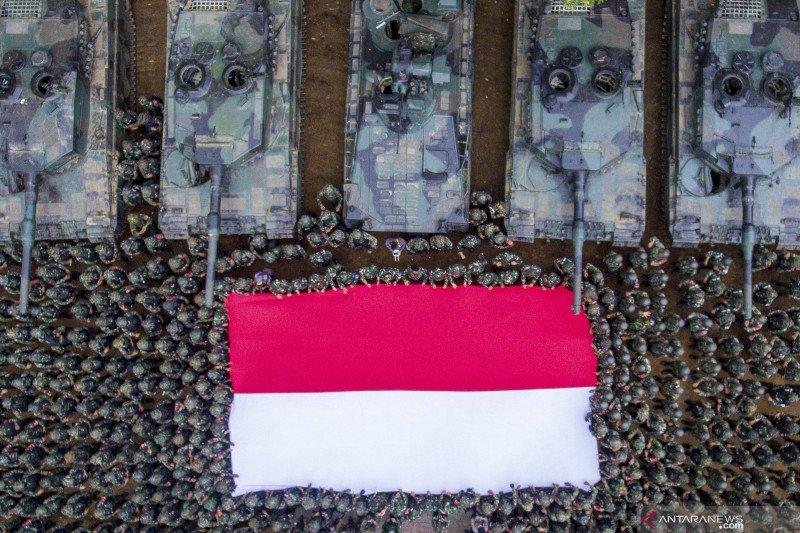 Puncak Latihan Antar Kecabangan TNI AD