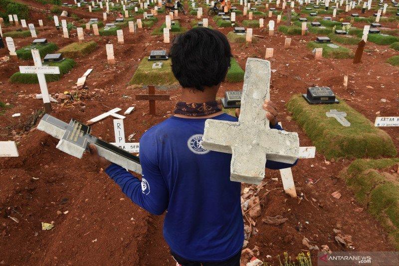 Rekor kasus baru COVID-19  di Indonesia yang menyentak