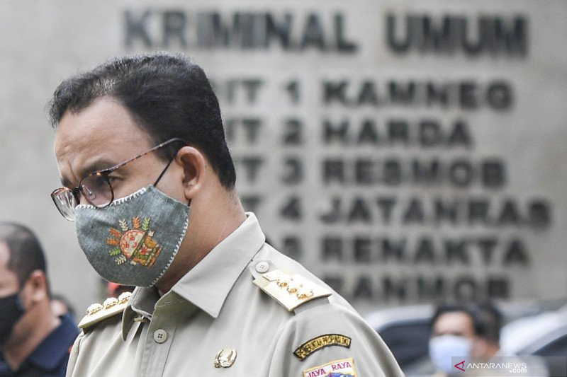 Governor Baswedan urges to remain careful after testing positive for COVID-19