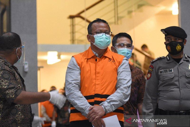 Edhy Prabowo gunakan uang suap untuk beli barang mewah